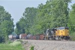 NS 7270 On NS 174 Westbound Looking For A Double Meet With NS 175 East