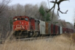 Train in the siding