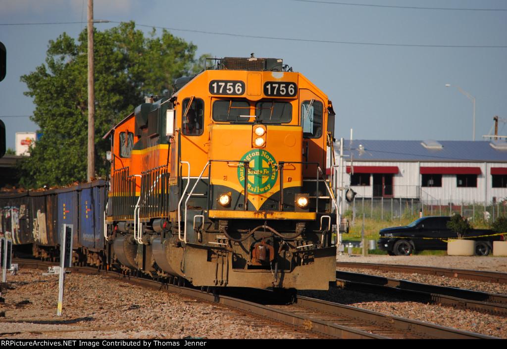 BNSF 1756 West