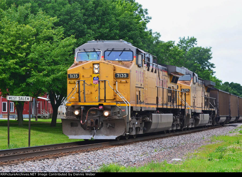 UP  7135,  CP's   Tomah   Sub.