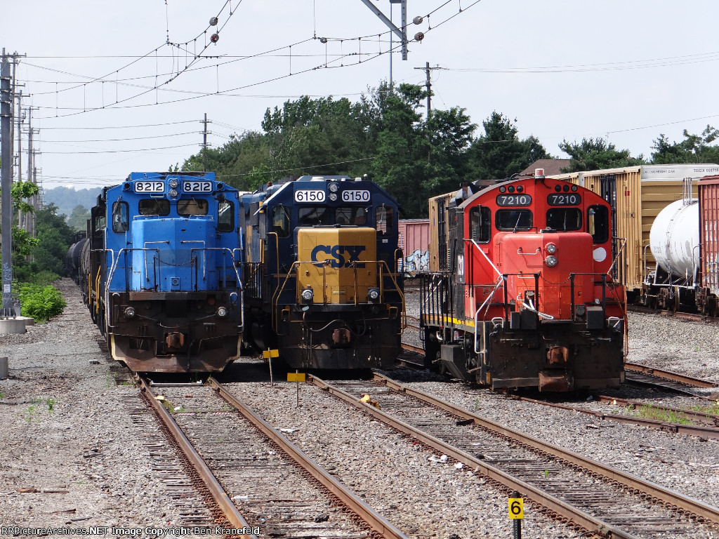 Pennsylvania Northeastern Railroad Yard