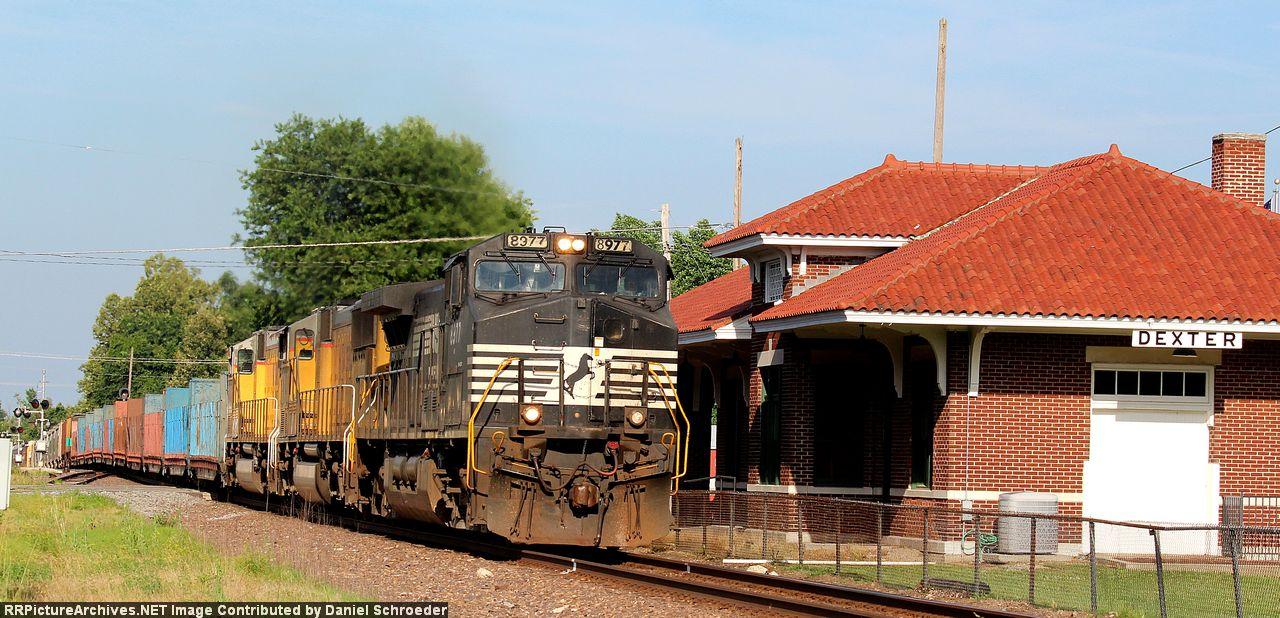 NS 8977 UP train MASNL