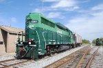 Aiken Railroad laying over