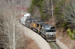 ns134 runs east at dendron nc
