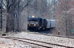 ns134 rounds the curve at marion into clinchcross
