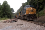coal loads come through camp two in the csx loops