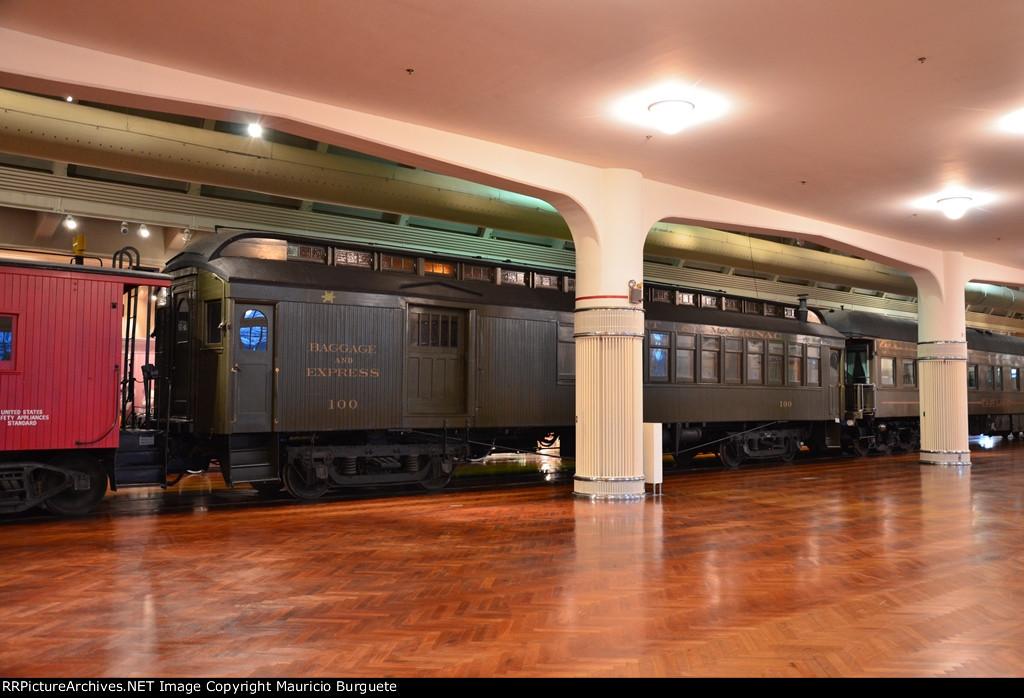 Detroit & Mackinac Baggage and Express car