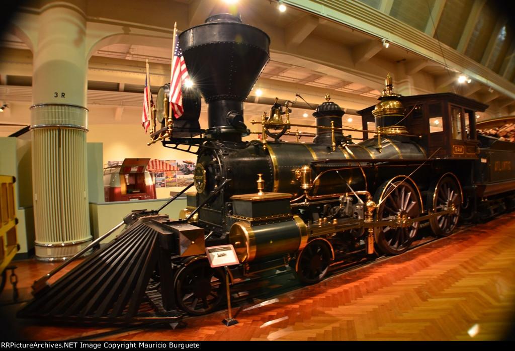 Atlantic & Gulf Railroad 4-4-0 Rogers Steam locomotive