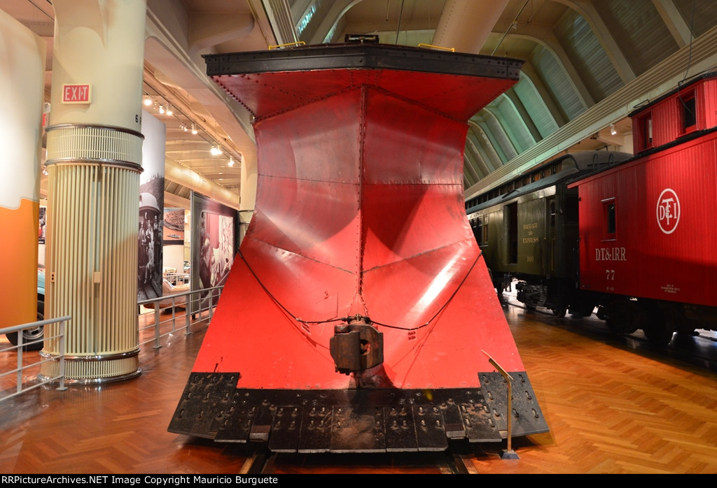 CP Snowplow front view