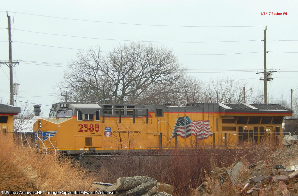 WEPX coal snores in the Racine siding