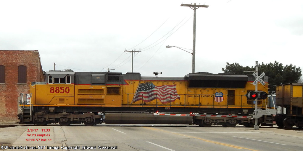 Dpu chases WEPX empties south