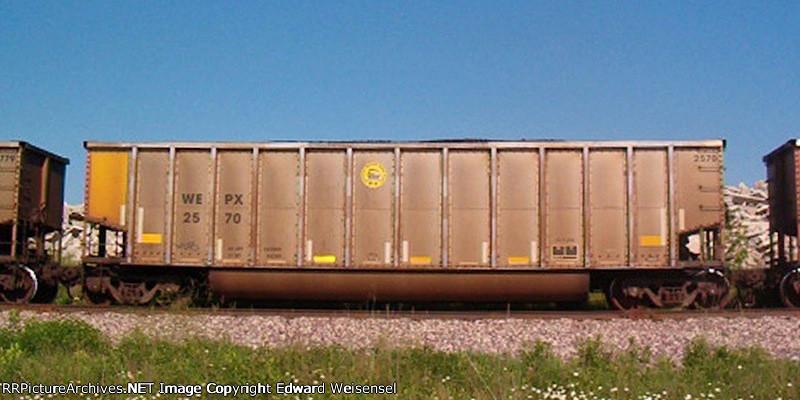 WEPX 2570 wears the Pleasant Prairie plant logo