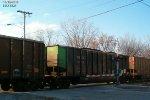 ESCX 6324 adds some unusual color to Oak Creek coal originating on the NS