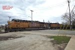 UP 5569 and 6529 head up the weston coal loads routed up the Kenosha sub