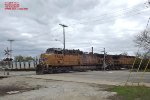 UP 5569 leads Weston coal run north via the Kenosha sub