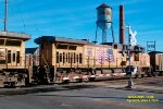 UP 6433 + 5984 head up this Oak Creek coal train - dpu 7260 will arrive shortly