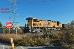 WPSX Weston empties DPU pushes thru mp 61.2 Waxdale on the Milwaukee sub