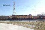 Dpu on a Powder River Basin loaded coalie @ 7 Mile Rd jsut south of the Oak Creek plant