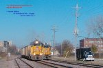 UPY 712 will run south and await Waukegan job 44 pickup on the scale track