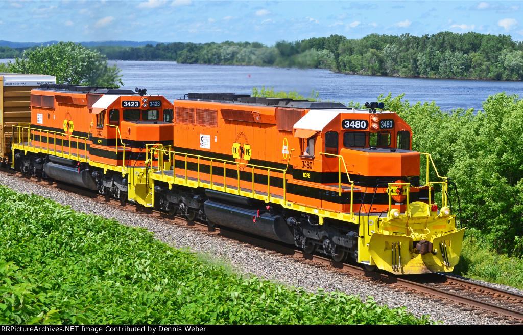 RC&PE  3480, CP's  River   Sub.