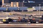 "Tender/tool car for the CP 414221 ""Wall Walker"" Ohio locomotive crane"