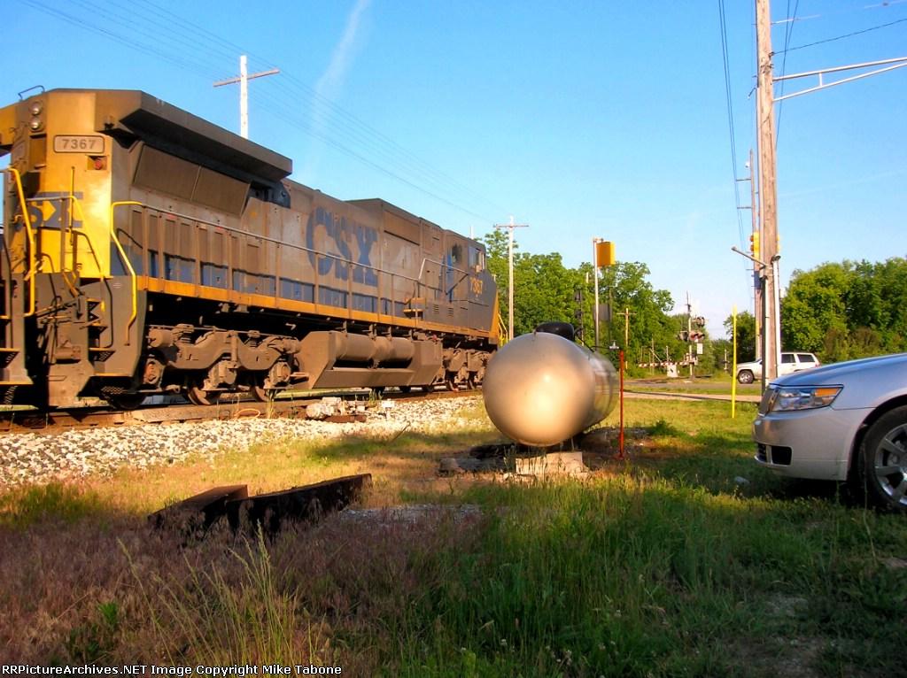 CSX 7367 on Q326-05