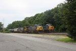 k 685 empty ethanol train 10 am