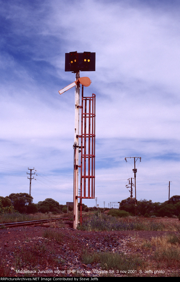 BHP Middleback Junction signal