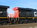 Closeup of CN ES44DC 2237