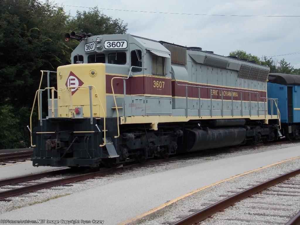 EL SD45 3607