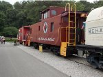Northern Pacific 1082 caboose
