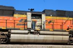 BNSF 9251 being inspected