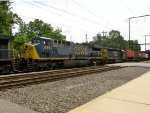 CSX 689 and 8160