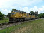 UP 3830 (SD70M) 4035 (SD70M) CSX 8781 (SD60M) UP 7987 (AC45CCTE)
