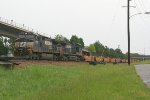 NS 9039 switching the intermodal yard