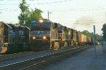 NS grain train about to touchdown