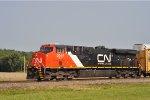 CN 2917 On NS 123 Eastbound