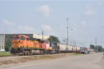 BNSF 7619 On NS 123 Eastbound