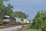 NS 7519 On NS 216 Northbound