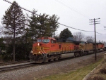 BNSF 4077