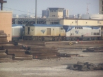 AMTK 90218 & AMTK 85 Sit in the Amtrak Yard