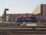 A Metra Commuter Train Rests on a Sunday