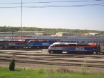 End of the Metra Line