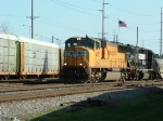 UP 4632 @ Moraine Yard