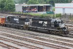 NS SD40-2 #6106 and NS B32-8 #549