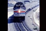 Southwest Chief approaching Summit