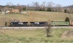 NS 15T rolls across the TN hills