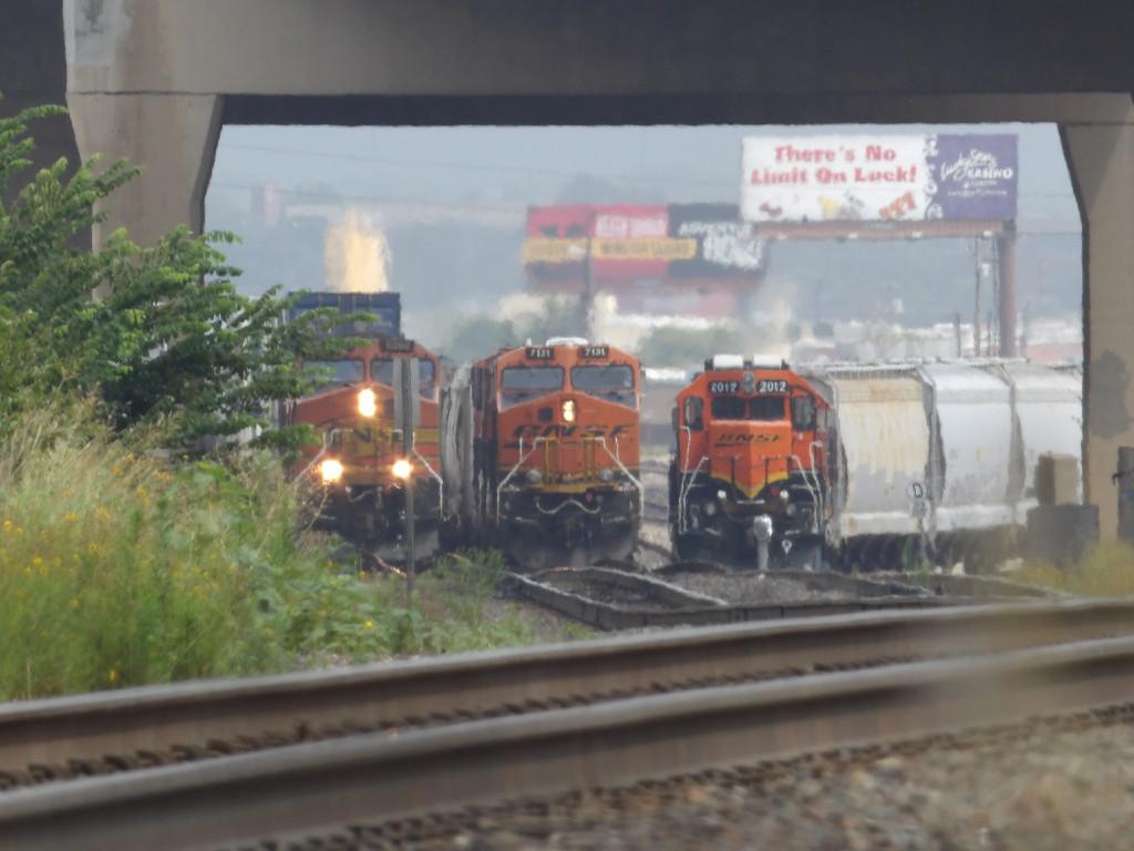 Three Trains