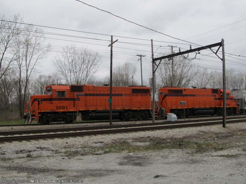 South Shore Freight Train Pair