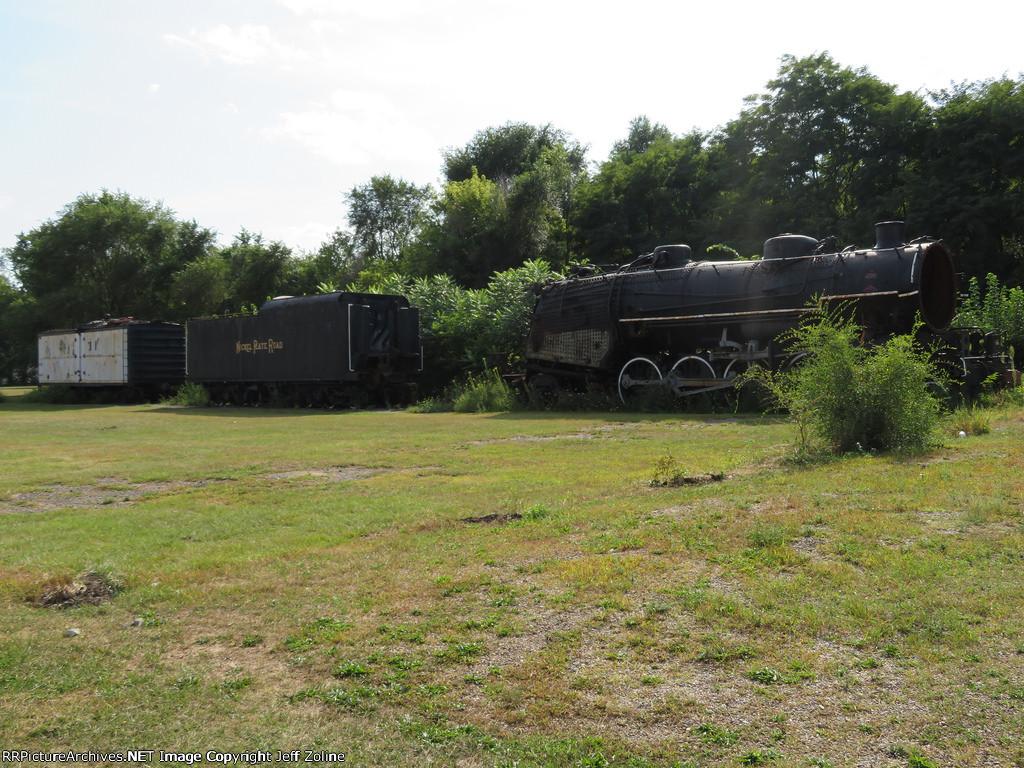 Abandoned Nickel Plate Locomotive in Hammond